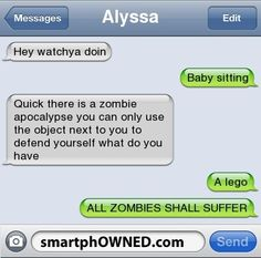 All zombies will suffer