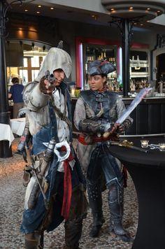 Assassin's Creed 3 - und die Kostüme sind für mehr Realismus sogar mal richtig verdreckt!
