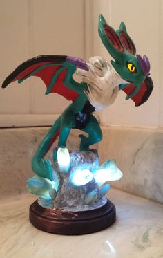 Custom Light-Up Pokemon Sculpture