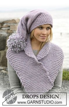 Accessories - Free knitting patterns and crochet patterns by DROPS Design Knitting Patterns Free, Knit Patterns, Free Knitting, Free Pattern, Drops Design, Knit Or Crochet, Crochet Hats, Knit Hats, Knitting Accessories