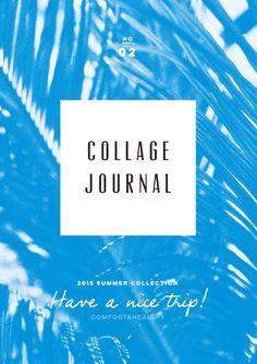 Japanese Fashion Catalog: Collage Journal. Kanako Taki (Soda Design). 2015