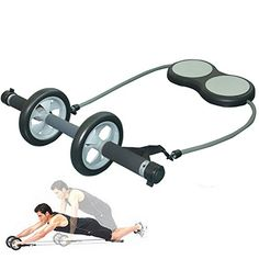 Ambitious Abdominal Exercise Wheel Ab Rollers Exerciser Fitness Workout Gym Roller Great For Arms Back Belly Core Trainer Free Knee Pad