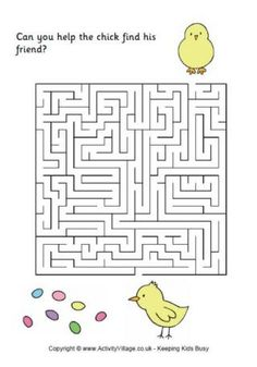 Easter Maze 1
