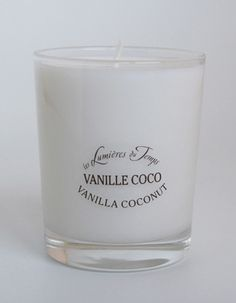 Scented Candles - Les Lumiere du Temps - Vanilla Coconut.Les Lumières du Temps - Lights of Time (brand is based in East of France.) .Scented Candles 180 gr. 100% vegetable wax in a recyclable glass. Burning time of 60 hours. Contact: Tel: +612.93275413 or E:info@masterslave.com.au , Shop Online Now: www.masterslave.com.au