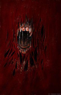 Scream by Radioactive-Insanity on DeviantArt Horror Art, Macabre, Dark Art, Dark Side, The Darkest, Creepy, Darth Vader, Painting, Image