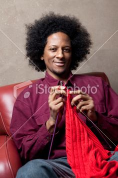african american knitting   Search for stock photos, illustrations, video, audio and editorial ...