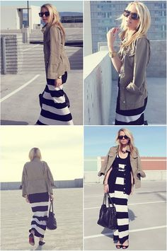 17cc142e8642 long stripe skirt oh winter timmme oh winter time Stripped Maxi Dresses