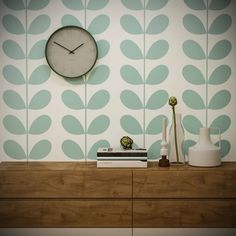 Large Wall Stencil Reusable Scandinavian Seaweed Allover Stencil Template Floral Pattern Fabric Decor DIY Home Decor Scandinavian Leaves Large Wall Stencil, Large Stencils, Stencil Diy, Stencil Templates, Wall Stencil Patterns, Wallpaper Stencil, Paper Flower Wall, Floral Wall, Cool Walls
