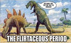 No wonder they're extinct...