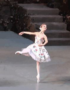 Anastasia Lukina as Aurora and Nika Tskhvitariia as Flora  The Awakening of Flora  Vaganova Ballet Academy Graduation Performance 2014
