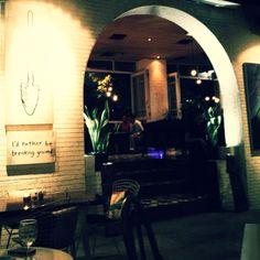 Poste Kitchen & Bar, Mega Kuningan. Great atmosphere, great live music.
