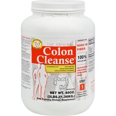 Health Plus The Original Colon Cleanse - 3 lbs - Health Plus The Original Colon Cleanse Description:  Colon Cleanse has been the #1 product in its class for over 3 decades.   Each serving supplies 24% daily value of fiber  Maintains a healthy heart  Doctor Recommended  Naturally absorbs toxins in the colon  Cleanses the lining of the intestine  Mixes well with water or juice  Maintains regularity  All Natural  No fillers or binders Enjoy the benefits of Colon Cleanse made from 100% Psyllium…