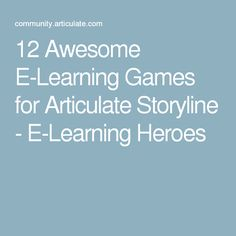 10 Fresh and Free E-Learning Templates for Articulate Storyline - E ...