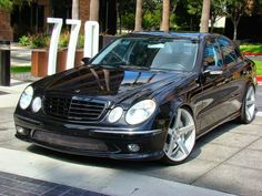 Mercedes E55 Amg, Mercedes E Class, Luxury Cars, Luxury Sedans, Mercedes Wallpaper, E63 Amg, Vossen Wheels, Benz E, Midnight Club