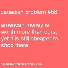LOVE shopping across the river! Canadian Facts, Canadian Memes, Canadian Things, I Am Canadian, Canadian Girls, Canadian Humour, Meanwhile In Canada, Atlantic Canada, Canada 150