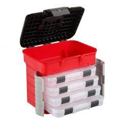 Cubikshop - 501 SuperBox Valigetta attrezzi in polipropilene con seduta ergonomica Plastica Panaro