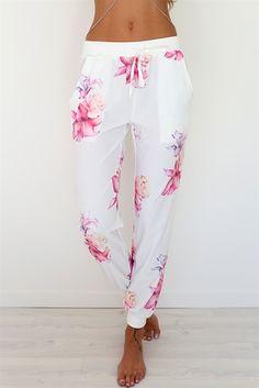 Tropical Garden Pants | SABO SKIRT