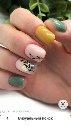 Fancy Nails, Pretty Nails, Precious Nails, Gel Manicure Designs, Mickey Nails, Cow Nails, Black Acrylic Nails, Minimalist Nails, Creative Nail Designs