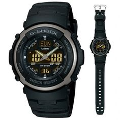 Mens G-Shock Black Rider Watch Our Price: TimeCentre Online is an Authorised Casio UK Retailer Casio G Shock Watches, Casio Watch, Most Popular Watches, G Shock Black, Watch Brands, Digital Watch, Men's Shoes, Watches For Men, Mens Fashion