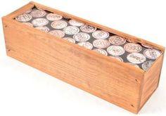 subwbxwalnut Walnut Finish Pine Wine Box with Personalizable Top