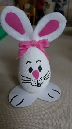 Easter Crafts for Kids Easter Projects, Bunny Crafts, Easter Crafts For Kids, Valentine Crafts For Kids, Crafts For Kids To Make, Christmas Crafts, Easter Activities, Preschool Crafts, Diy Ostern
