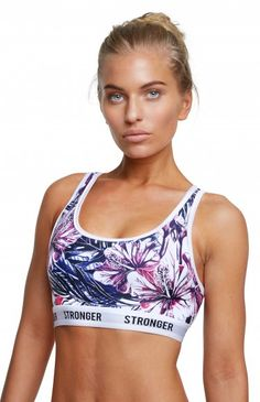 Aloha - The racer back sports bra is the perfect blend of comfort and style | www.strongerlabel.com #sportsbra