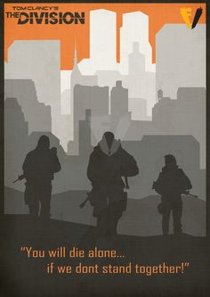 Tom Clancy The Division Poster by on DeviantArt もっと見る Pen & Paper, Larp, Airsoft, Pokemon, Tom Clancy The Division, Gamers Anime, Indie Art, Game Quotes, Just A Game