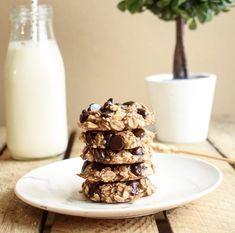 Recette de cookies zéro culpabilité, oui oui c'est possible ;) Recette avec seulement 3 ingrédients et surtout sans sucre ni matière grasse ajoutées