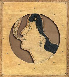 Ann Driver (In Wood)