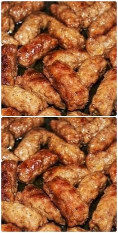 Polish Recipes, My Recipes, Chicken Recipes, Recipies, Cooking Recipes, Healthy Recipes, 4 Ingredients, Kung Pao Chicken, Chicken Wings