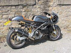 Ducati ST4s cafe racer  backyardrider.com