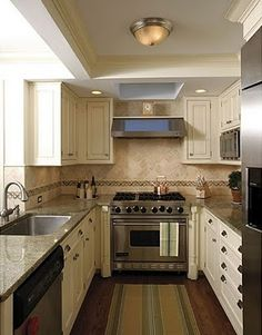 Small Galley Kitchen Cabinets before & after: brooklyn brownstone galley kitchen — diy with add