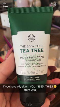 The body shop tea tree mattifying lotion – - Para Una Piel Sana 2019 The Body Shop, Body Shop Tea Tree, Beauty Care, Beauty Skin, Beauty Tips, Beauty Hacks, Haut Routine, Oily Skin Care, Dry Skin