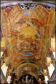 Frescoes In University Church # 4 - Wroclaw, Dolnoslaskie