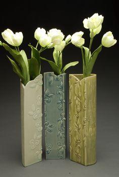 Image result for ceramic slab vase