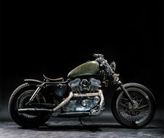 """1997 HD 883 Sportster """"The Witch"""""""