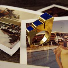 Bold Lapis Ring