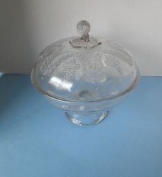Antique EAPG Shell and Tassell Covered Butter Dish Compote - Early Glass American Press, Fostoria Glass, Stag Deer, Tin Toys, Early American, Pressed Glass, Vintage Toys, Decorative Bowls, Vintage Jewelry