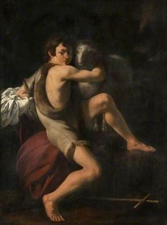 With john the baptist by caravaggio pity