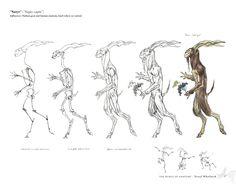Mythical character interpretation