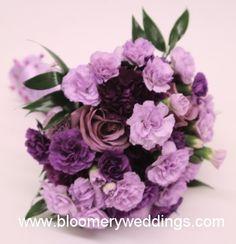 ramos de novias violetas con los tres colores - Buscar con Google