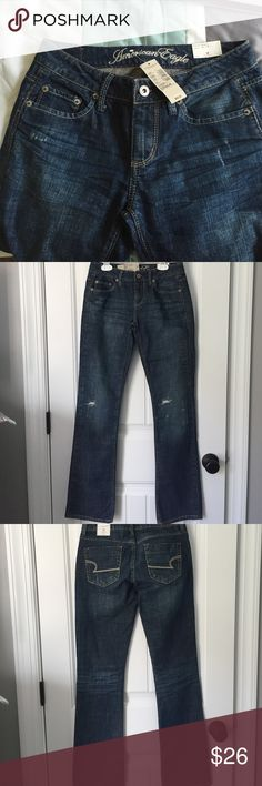 🌺NEW🌺 American Eagle Outfitters SZ 0R Jeans Brand new tags still attached. Size 0 Regular True Boot Jeans. Comes from a smoke and pet free home American Eagle Outfitters Jeans Boot Cut