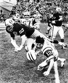 Ben Davidson nails Joe Namath with 2 fists to the face - the late NFL was brutal. The Raider's Davidson was as dirty a player as anyone who ever played. Oakland Raiders Football, Raiders Baby, Nfl Oakland Raiders, Okland Raiders, Raiders Nails, Football Memes, Football Team, Canes Football, Football Wall