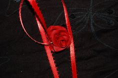 OOAK  fire red Fairyrose pendant by jamiebishop3 on Etsy, $12.00