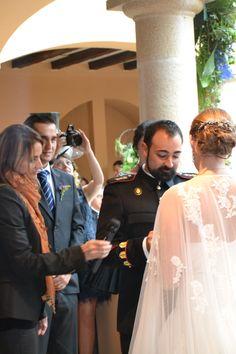 Manuel declara a Rebeca su amor. #boda #ceremonia