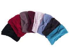 knit headbands #swoo