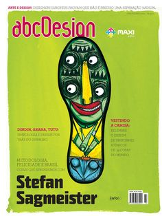 Capa da edição 32 da Revista abcDesign