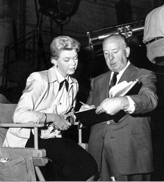 Doris Day & Alfred Hitchcock