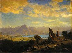 Scene in the Tyrol, 1854 - Albert Bierstadt