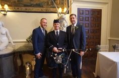 Congratulations to Stuart & Tim, married today at the amazing #Elmore Court in #Gloucestershire. I #Bagpiped for the arrival of the many family & friends who attended, followed by the leading in & out of the ceremony. All the very best to you both for your future together. Thank you to Wedding Co-ord Lisa & the very professional & friendly #ElmoreCourt staff :-)  #SouthWales #Weddingmusic #Bagpiper